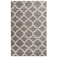 Jaipur Abeet Rug From Lounge Collection LOE08 - Gray/Ivory